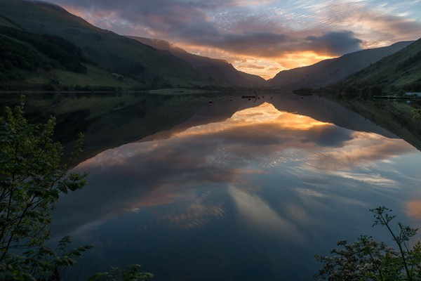 Tal Y Llyn at First Light